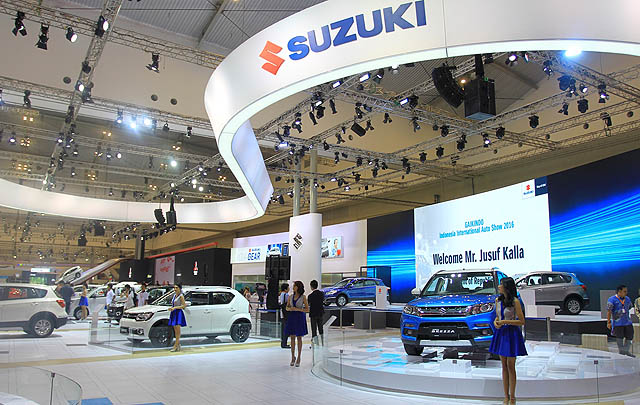 GIIAS 2016, Suzuki Perkenalkan New SX4 S-CROSS