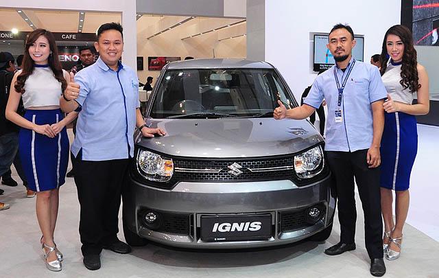 Suzuki Ignis GL AGS Resmi Meluncur di GIIAS 2017