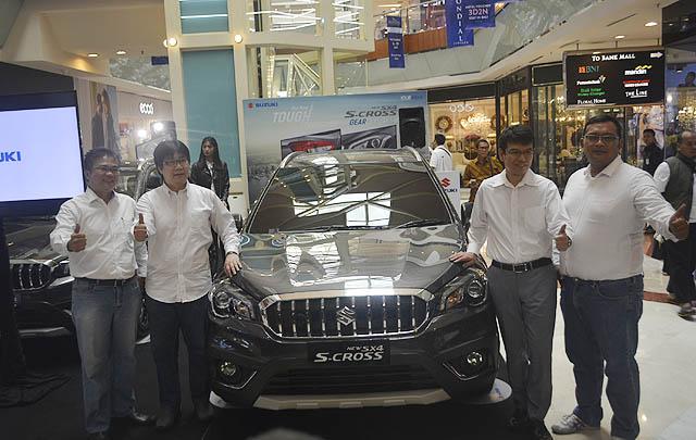 Suzuki SX4 S-Cross Facelift Resmi Meluncur di Tanah Air