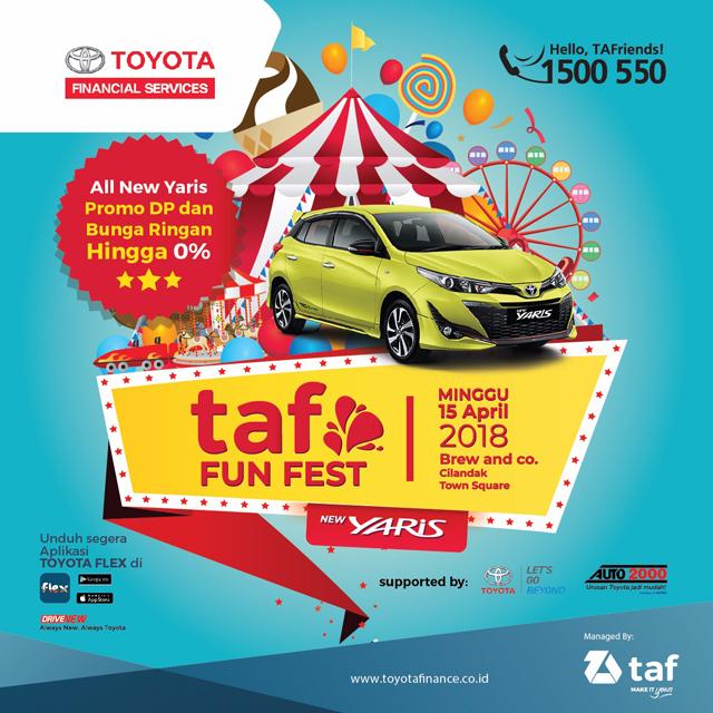 Fun Fest 2018, Genjot New Toyota Yaris