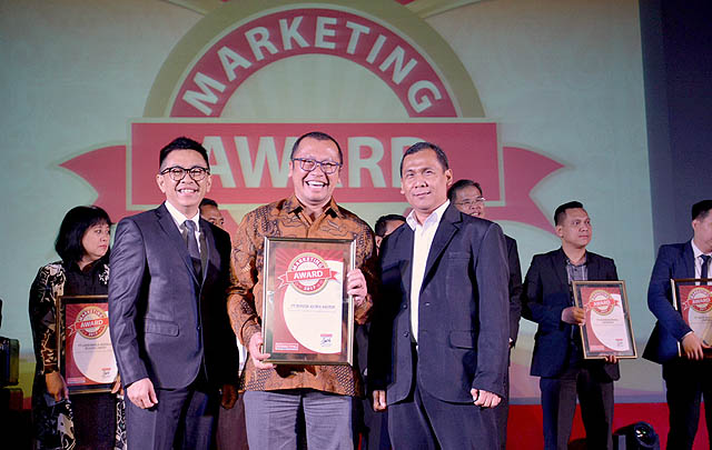 TAM Raih Predikat Bergengsi di Marketing Award 2017