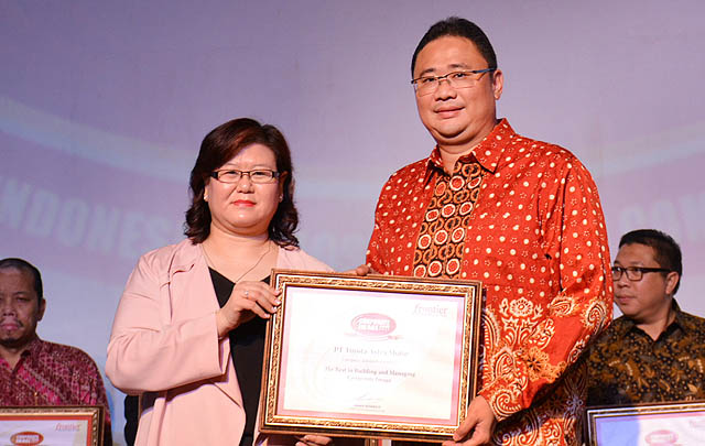 2017, PT TAM Kembali Raih Corporate Image Award