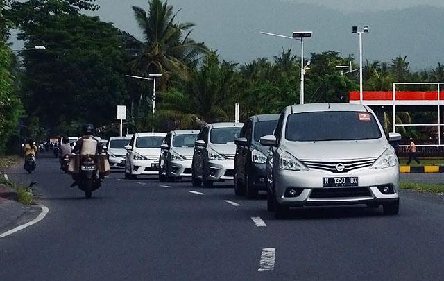 Cukup 7 Liter Bensin, Nissan Grand Livina Jelajahi Bali