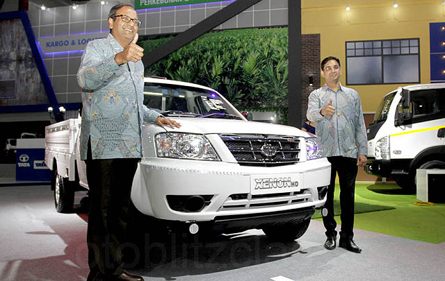 IIMS 2017, Tata Motors Hadirkan Tiga Kendaraan Niaga Terbaru
