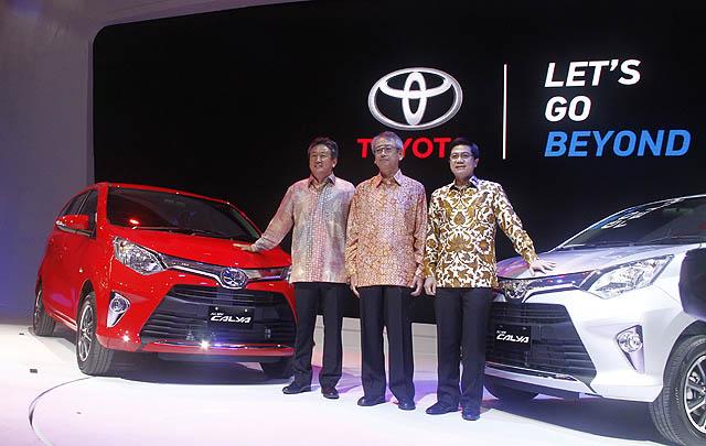 Toyota Calya Resmi Mengaspal di GIIAS 2016