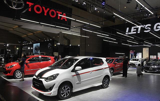 Toyota Hadirkan 20 Mobil di IIMS 2017