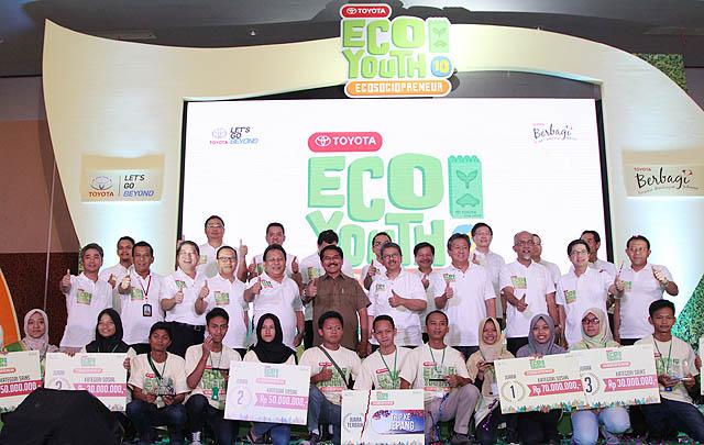 Toyota Bangun 'Eco Gallery' di Berbagai Sekolah di Indonesia