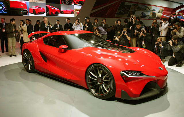 Toyota FT-1 Concept, Sang Penerus GT-86?