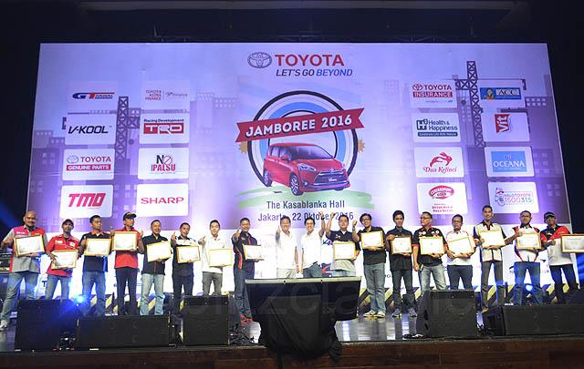 1.500 Member dari 16 Klub Padati Toyota Jamboree 2016