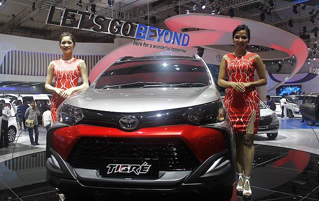 Toyota Hadirkan Modifikasi Berkarakter di GIIAS 2016
