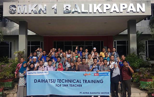 Gelar Training, Daihatsu Tingkatkan Kompetensi Guru SMK