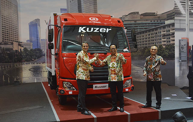 UD Trucks Gelar 'World Premiere' Kuzer di GIIAS 2017