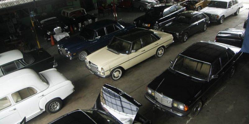 Asyiknya V&V Mercedes-Benz Classic Workshop Sales & Sevice