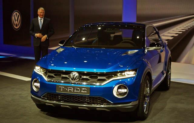 Volkswagen T-ROC Concept Debut di Geneva