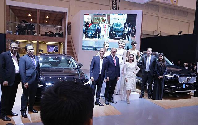 Volvo Cars Hadirkan Empat Model Premium Terbaru di GIIAS 2017