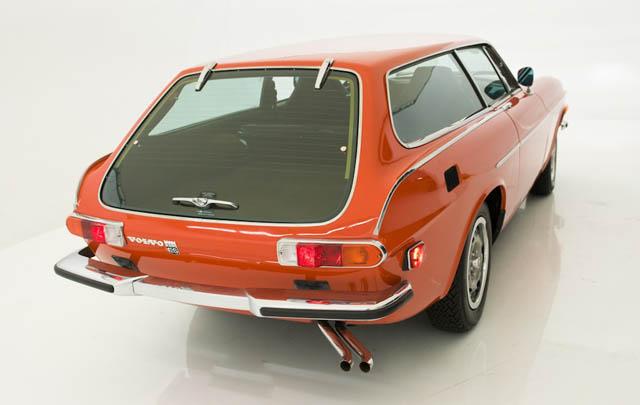 Wow, Volvo P1800 ES Ini Baru Menempuh 142 Km dalam 40 Tahun!