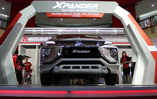 'Next Generation MPV' Mitsubishi Xpander Hadir di Pekanbaru