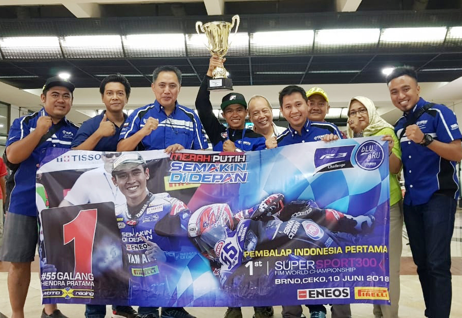 Usai Juara di WorldSSP300 Ceko, Galang Hendra Lebaran di Jogja