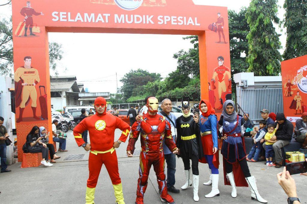 MPM Lubricants Berikan Fasilitas Mudik Gratis Bagi Pahlawannya
