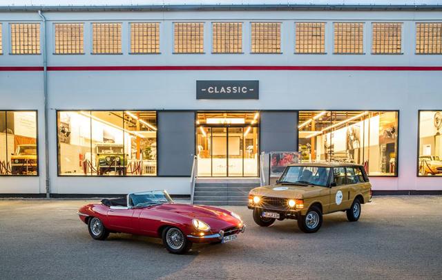 Jaguar Land Rover Buka Bengkel Klasik di Jerman