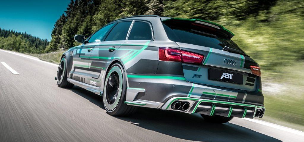 Audi RS6-E Ini Berani Tantang Hypercar
