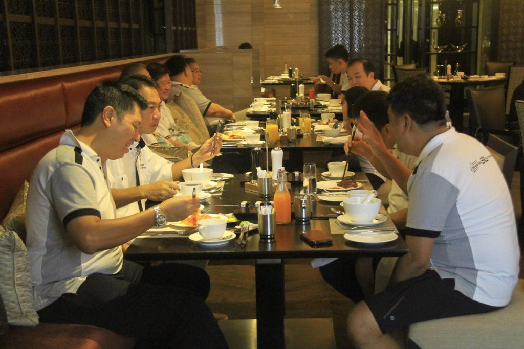 Makan Pagi Bersama, Cara MBSL Berhalal Bihalal