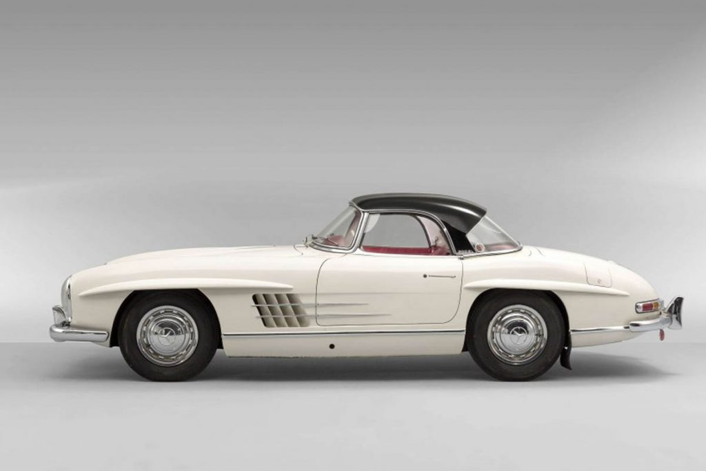 Mercedes-Benz 300SL Roadster 1963 Ini Terjual Rp 52 Miliar