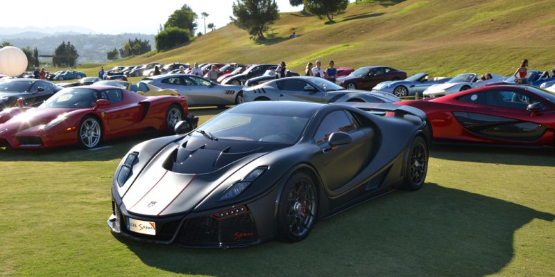 Spania GTA Spano Memukau di Marbella