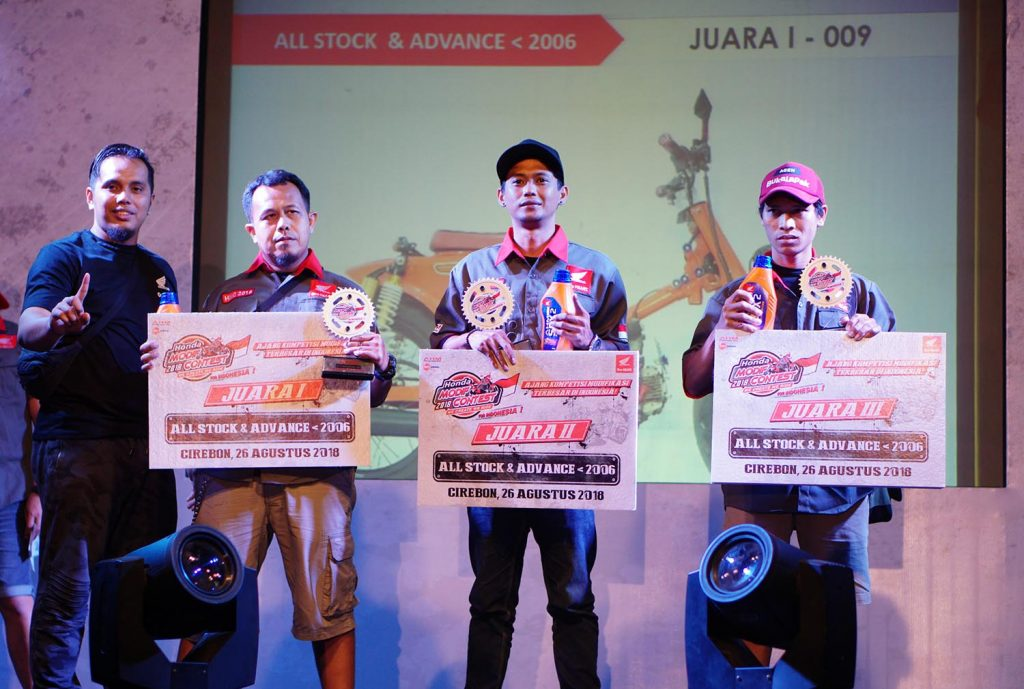 Inilah Jagoan Honda Modif Contest 2018 Cirebon