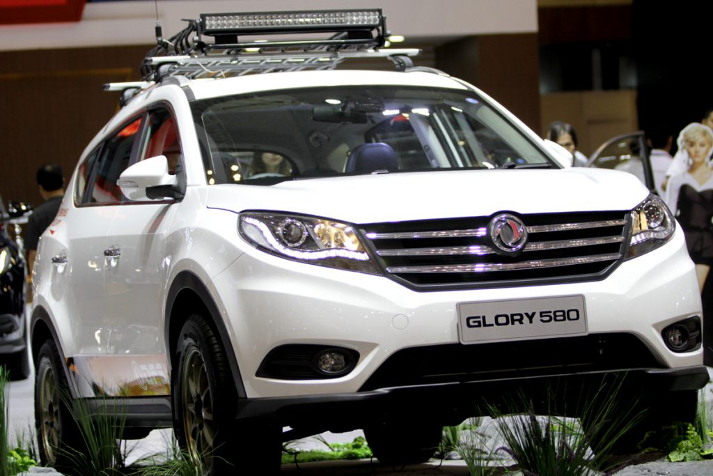 GLORY 580 Posisi Ketiga Favorite Passenger Car GIIAS 2018