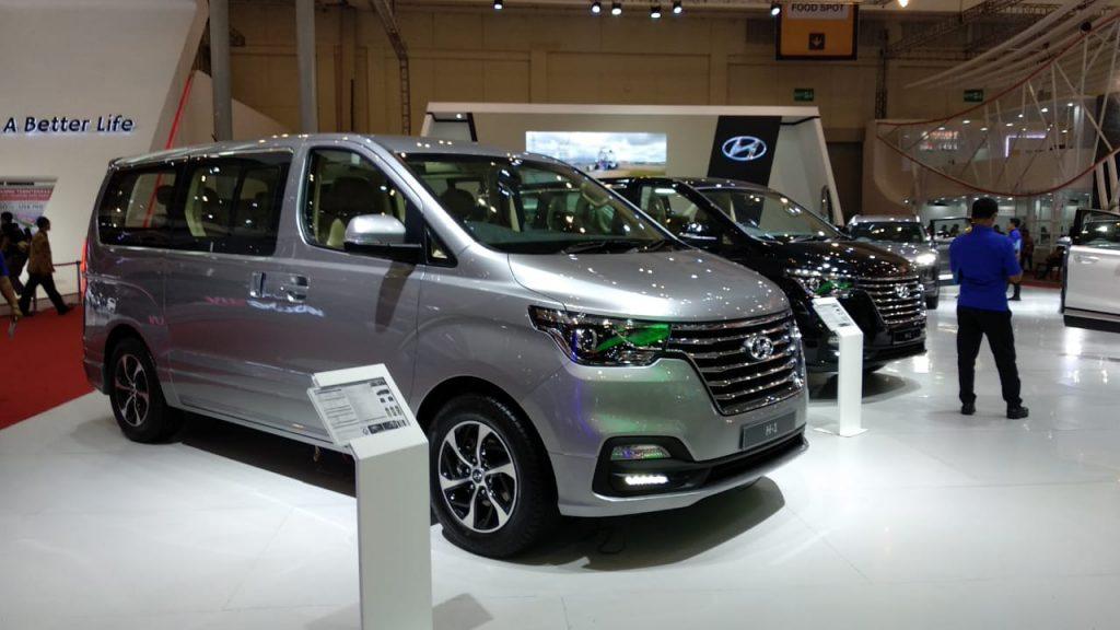 New Hyundai H-1 2018 Goda Pengunjung GIIAS 2018