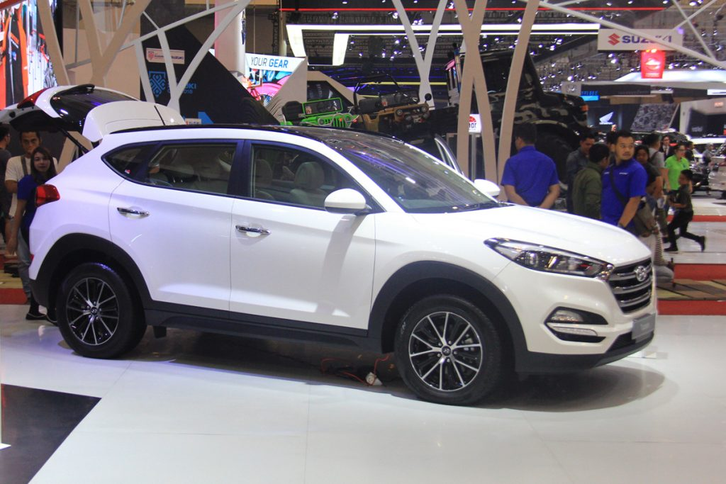 All New Hyundai Tucson Terpesan 58 Unit di GIIAS 2018