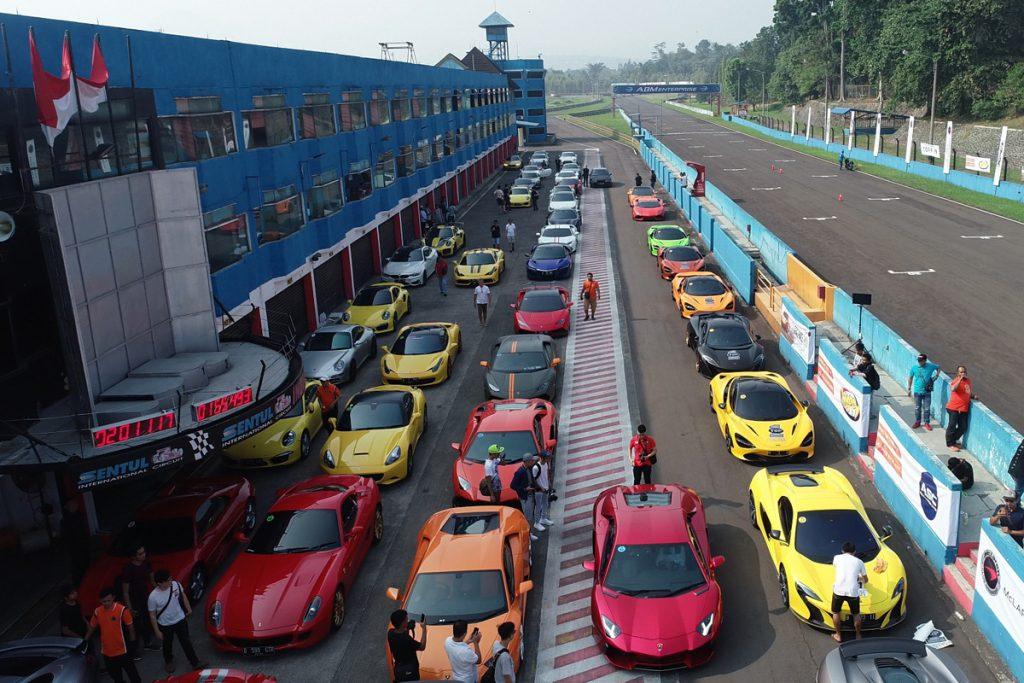 Puluhan Sport Car Ikuti Ajang Speed Up Thrill In
