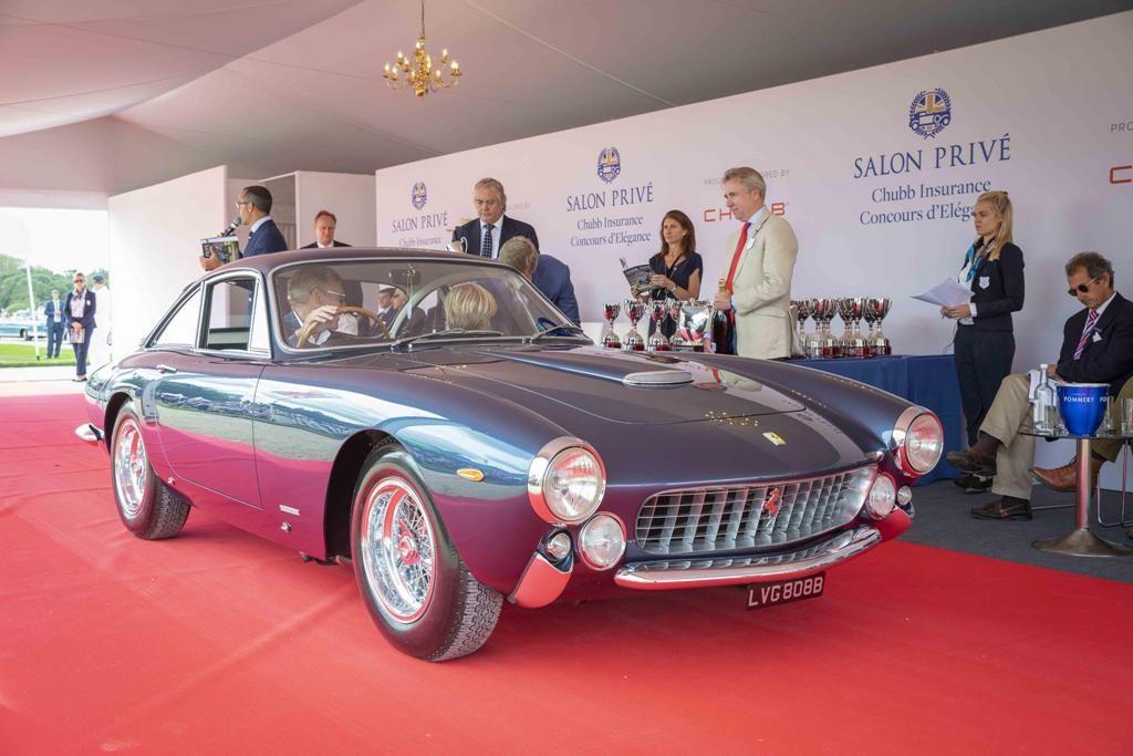 Ferrari Borong Anugerah Salon Privé 2018