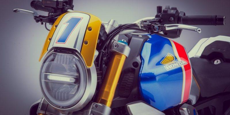 Modifikasi Honda CB1000R Bertema Mick Doohan