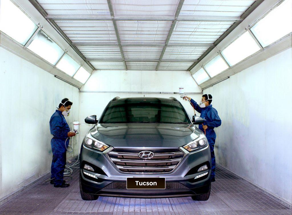 Hyundai Resmikan Fasilitas Perbaikan Bodi & Cat