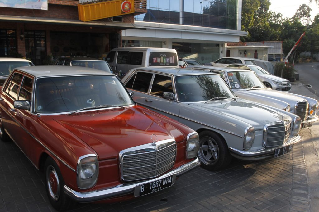 Road to 19th Mercedes-Benz Classic Club Indonesia