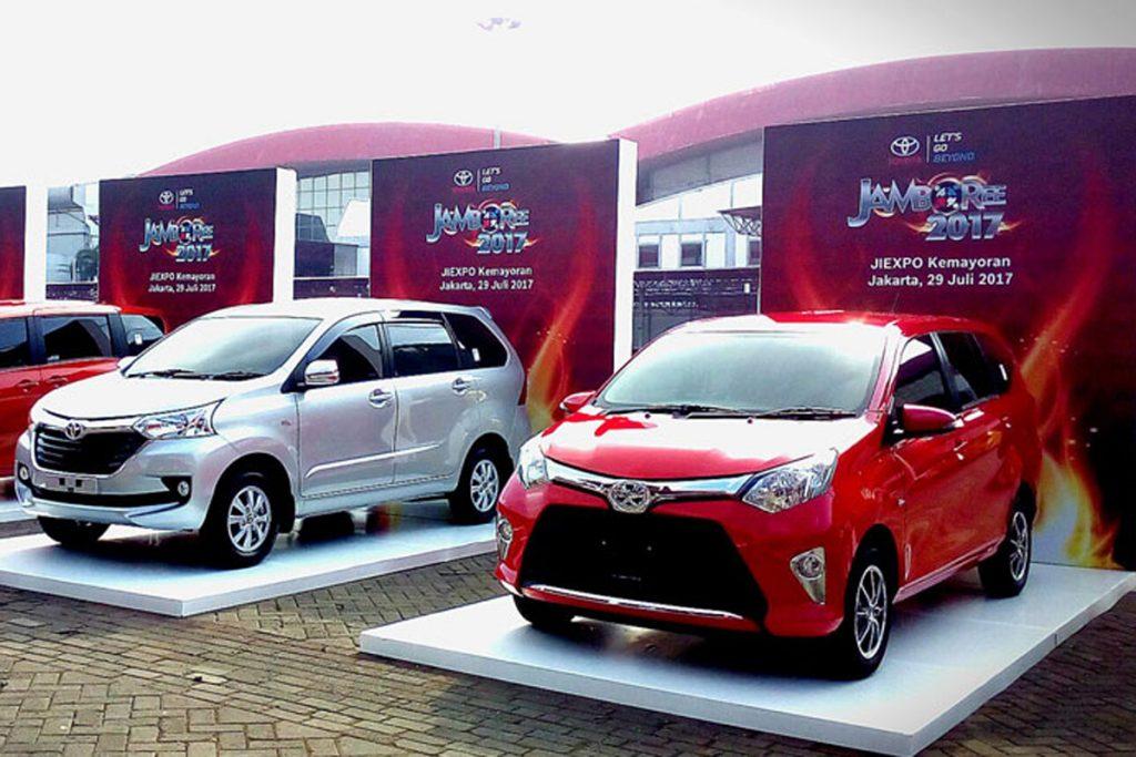 Program Khusus V-KOOL di Jambore Toyota 2018