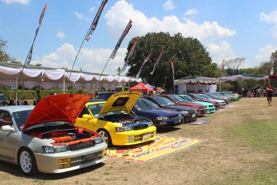 Great Corolla Club Cetak Rekor MURI di Prambanan