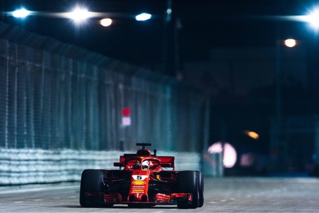 Hasil F1 Singapura 2018: Vettel Makin Jauh Tertinggal