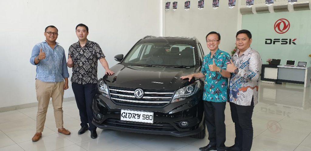 DFSK Glory 580 Memulai Debutnya di Surabaya