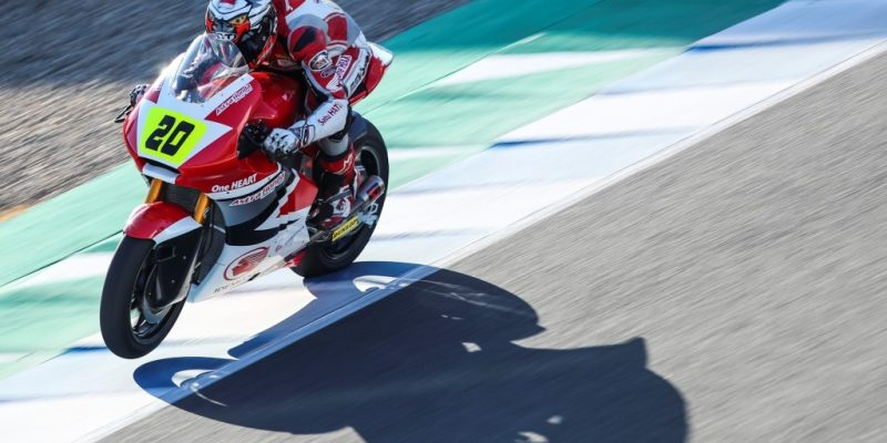 Dimas Ekky Bidik Podium Tiga Besar di CEV Moto2 Albacete