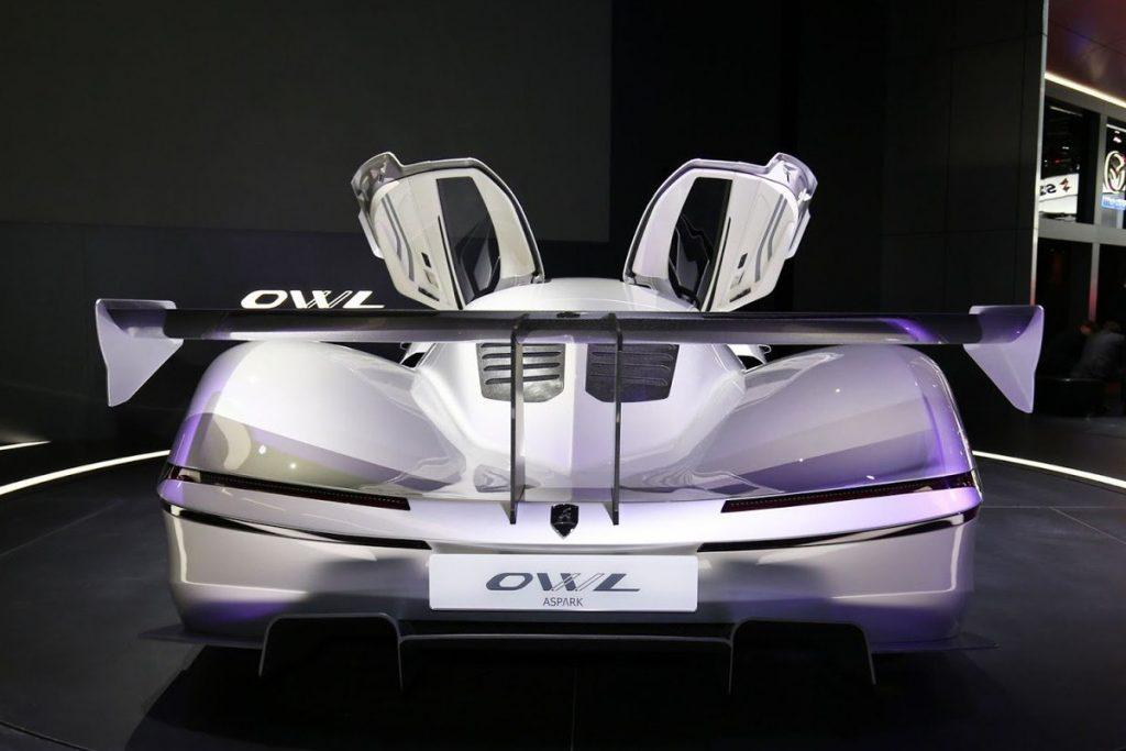 Aspark Owl Mejeng di Paris Motor Show