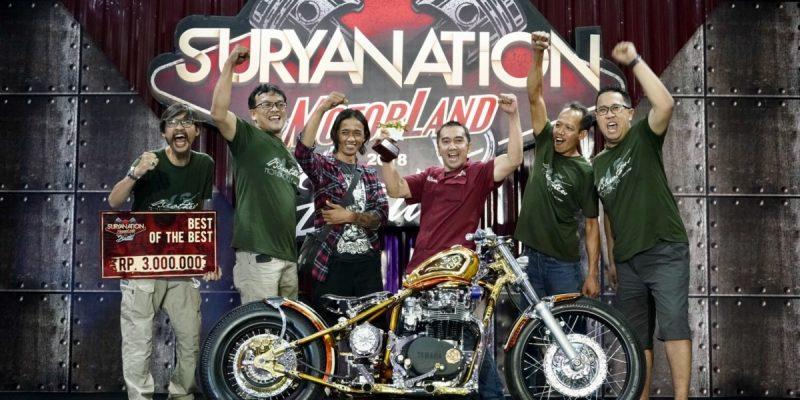 Juara Suryanation Motorland 2018 Siap Terbang ke Jerman