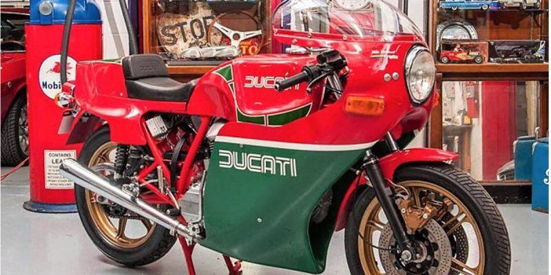 Replika Ducati 900 MHR 1980 Ini Dijual