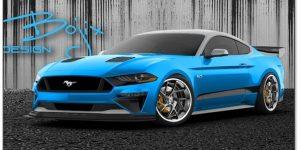 5 Modifikator Pamer Ford Mustang di SEMA 2018