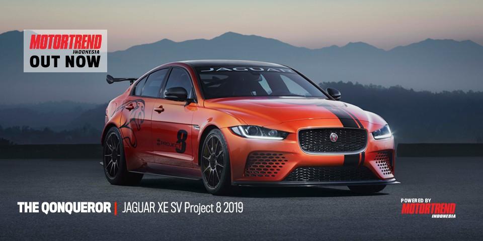 Jaguar XE SV Project 8 2019