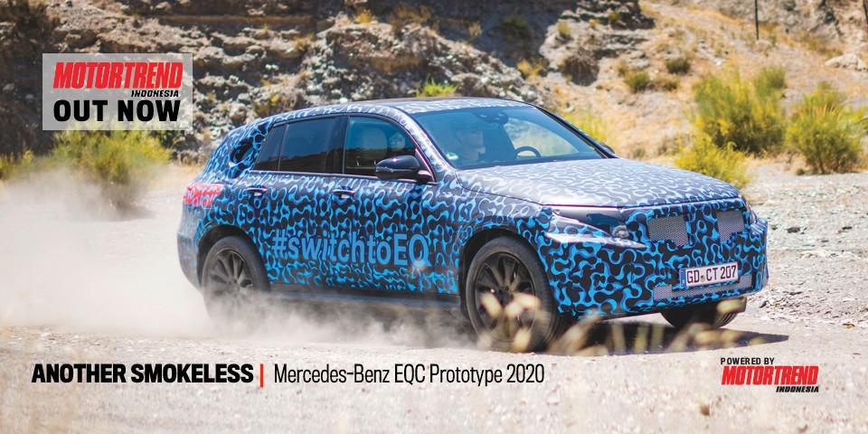 Mercedes-Benz EQC Prototype 2020