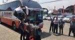 Hino Bikin Terampil Sopir Bus di Surabaya