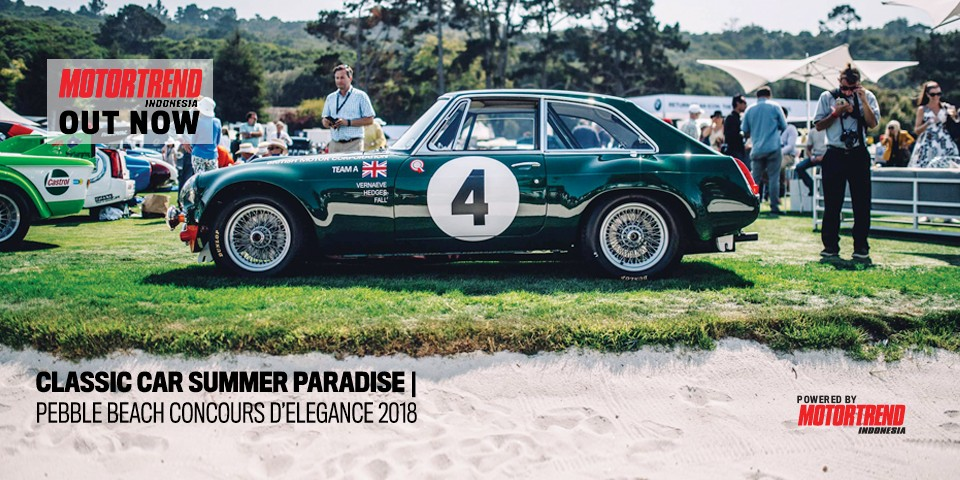 Pebble Beach Concours D'Elegance 2018